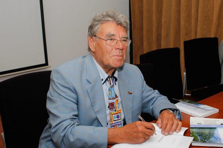 Eberhard Fedtke na Casa do Professor (Fotografia de Liliana Lemos)
